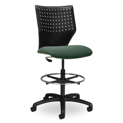 EDU2 Adjustable Height Perforated Stool